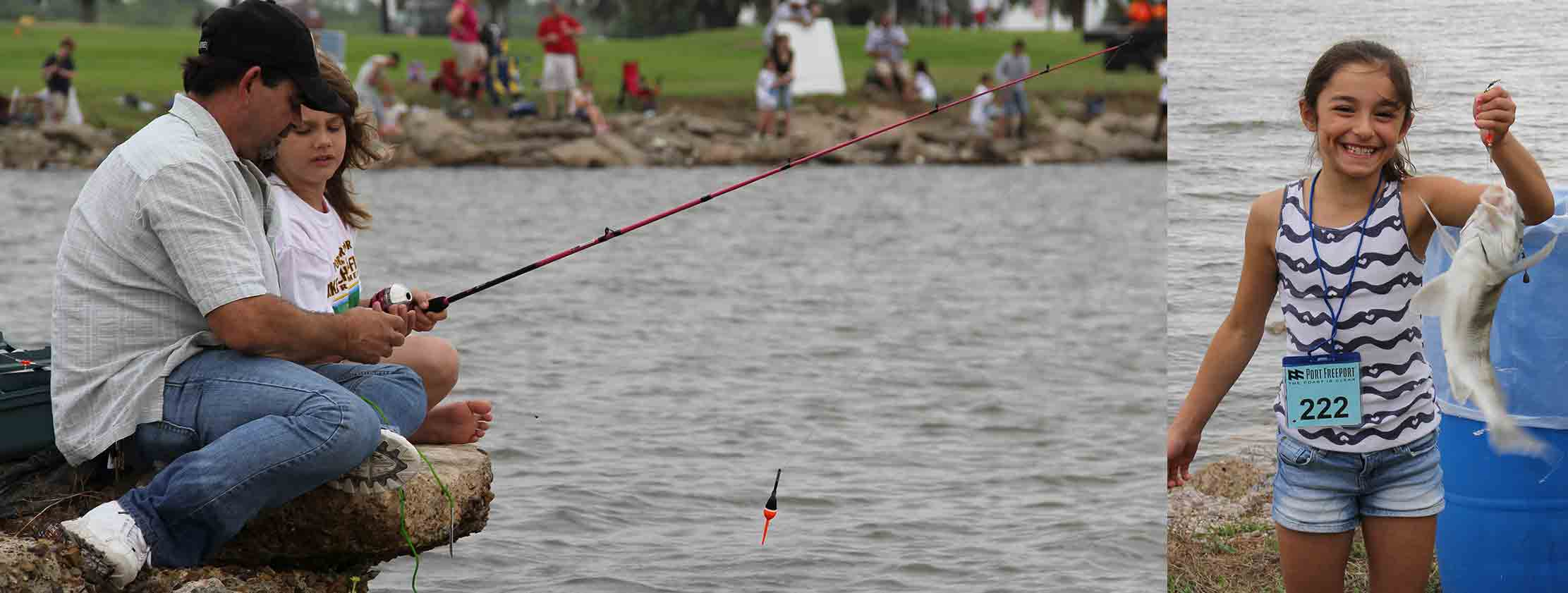 Port freeport ports in texas take a child fishing for Fishing tournaments in texas