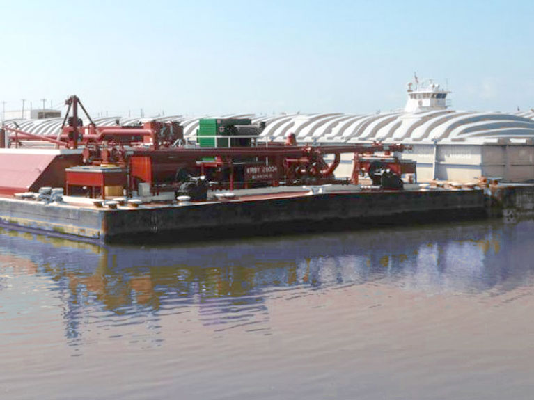 environmental policy barges at port freeport