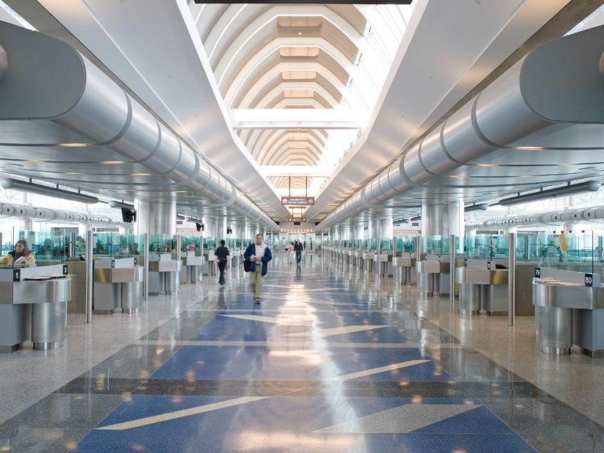 george bush internationial airport