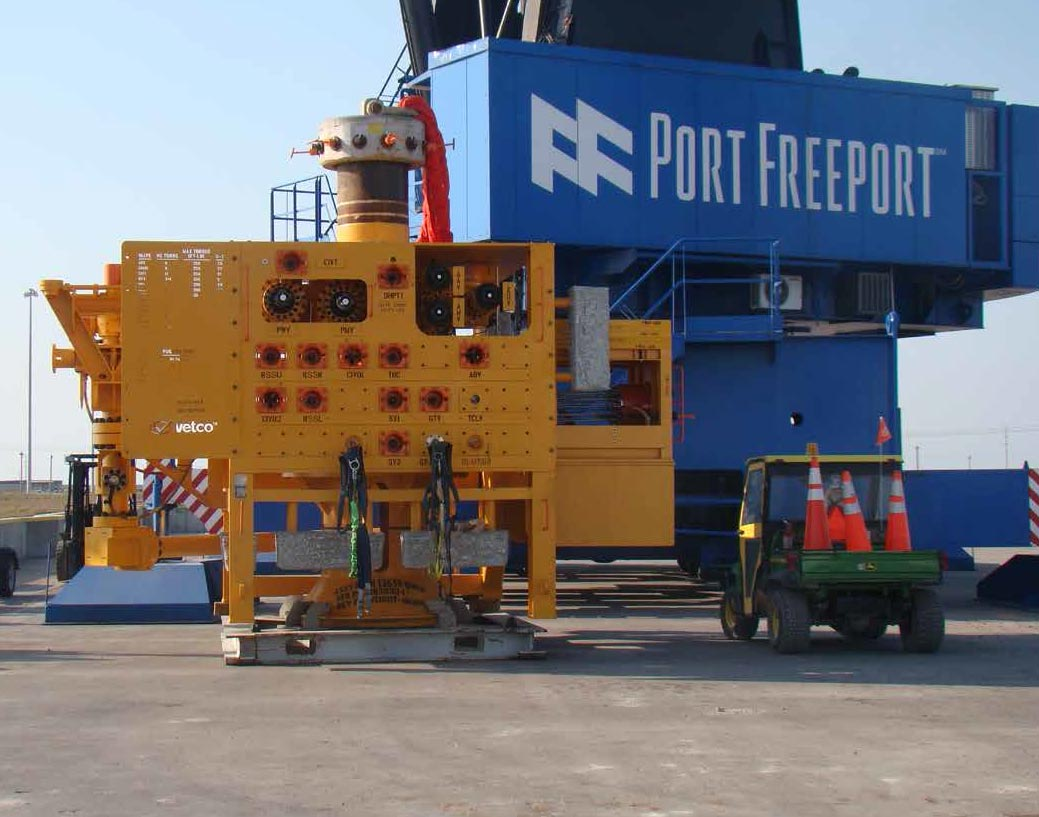 Project cargo and breakbulk operations