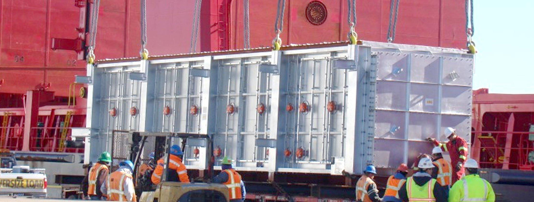 breakbulk port tranport