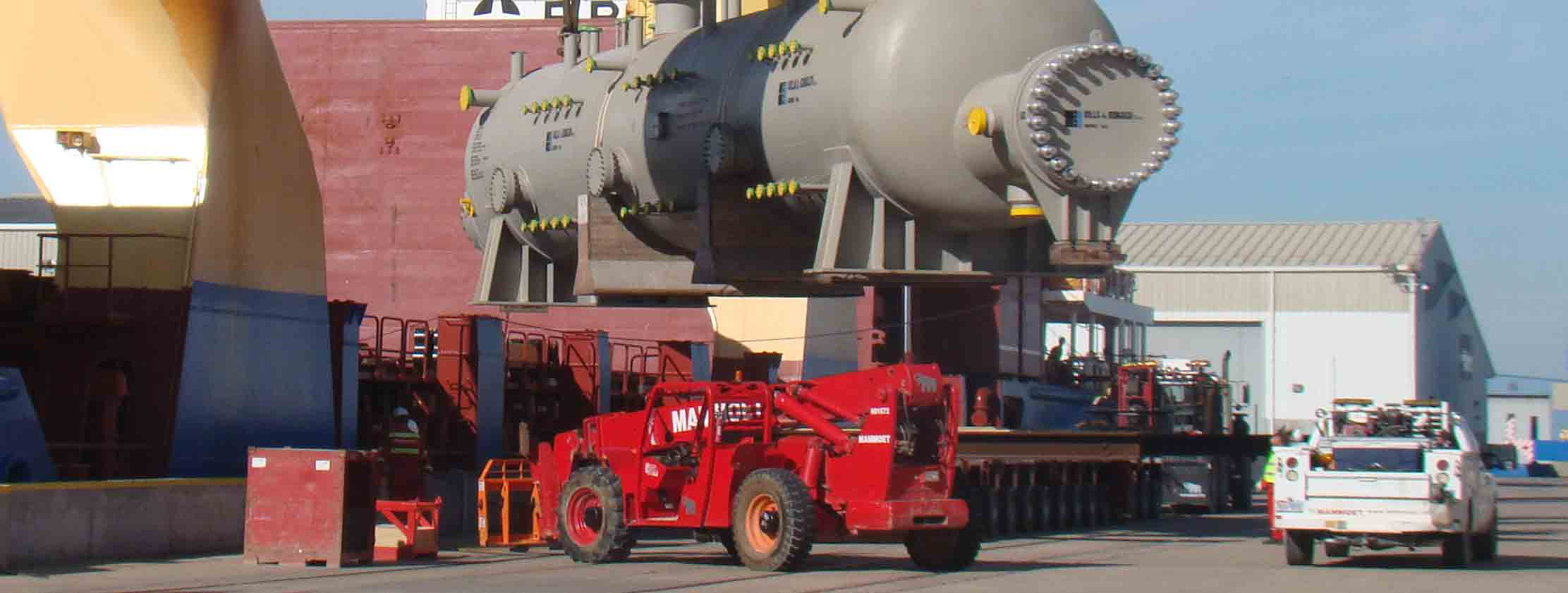 breakbulk cargo port freeport