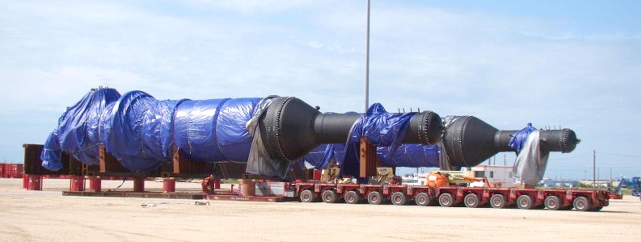 breakbulk project cargo port freeport