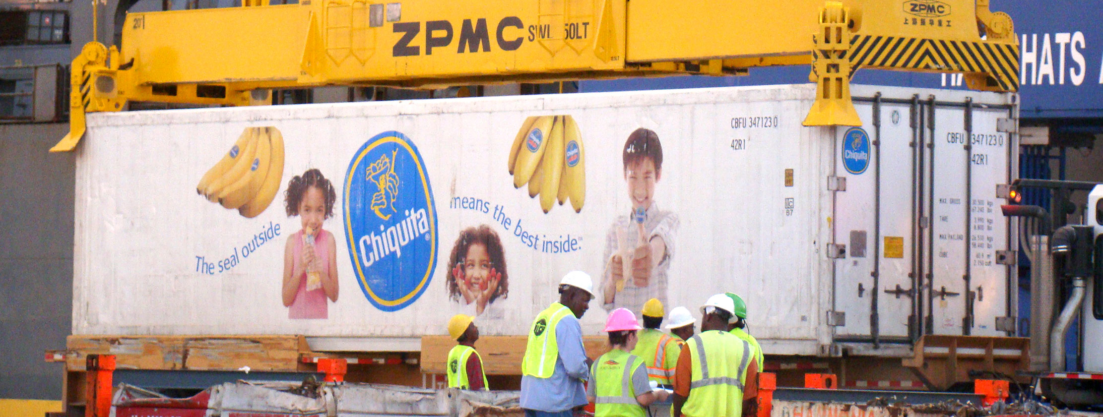 chiquita port freeport container operations