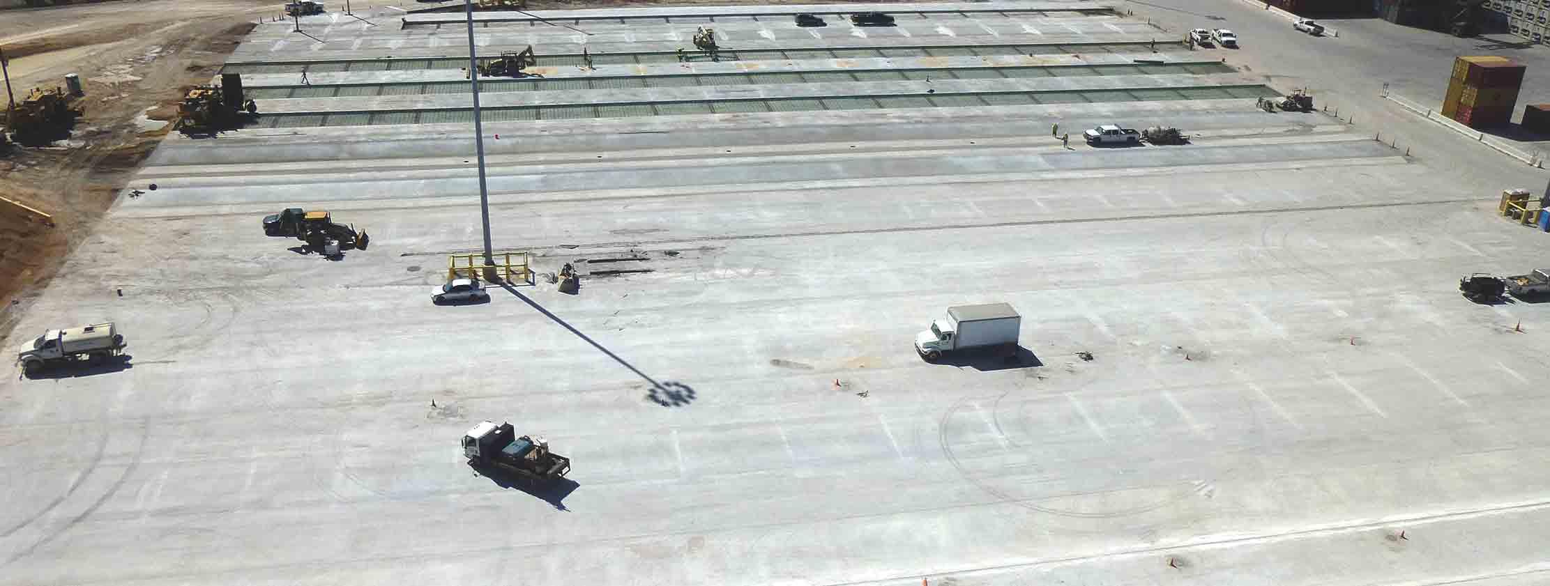 expansion at port freeport