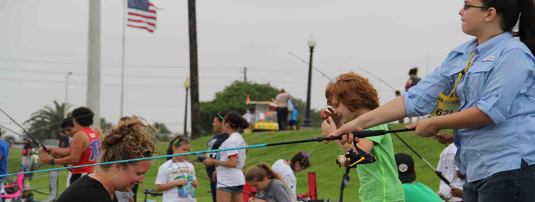 freeport tx child fishing tournament