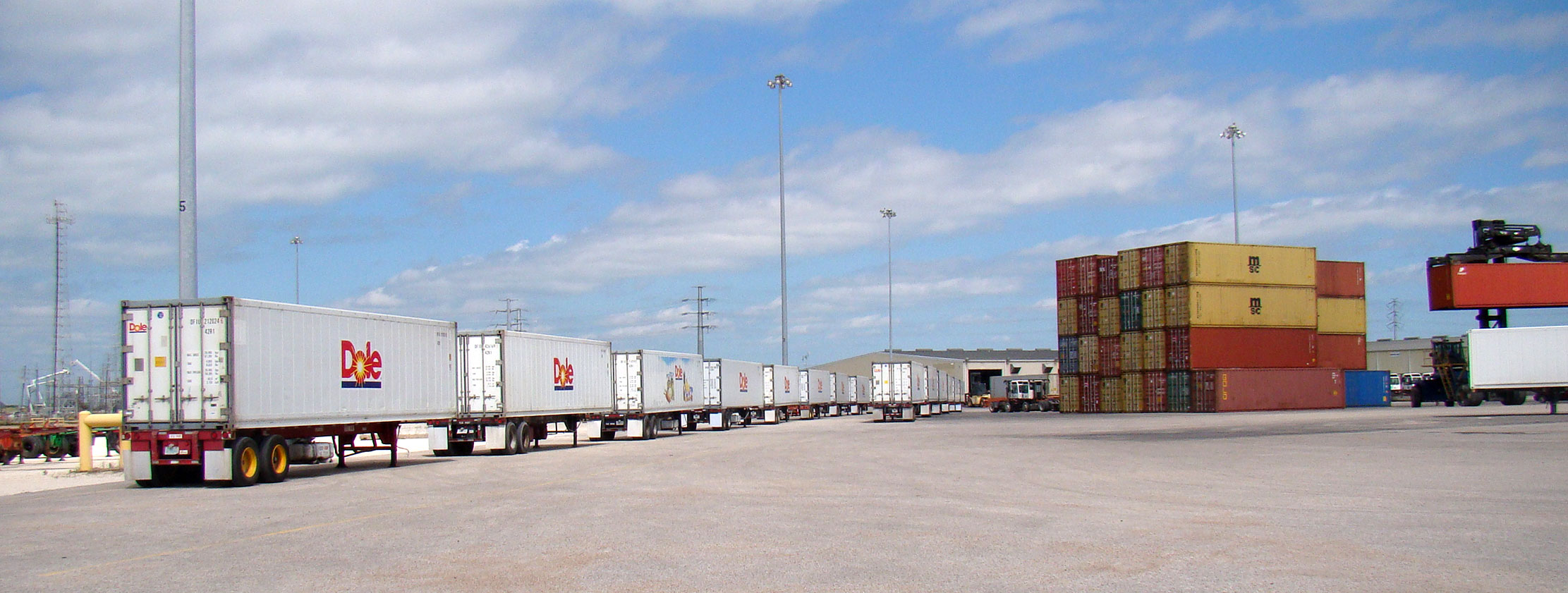 infrastructure at port freeport tx