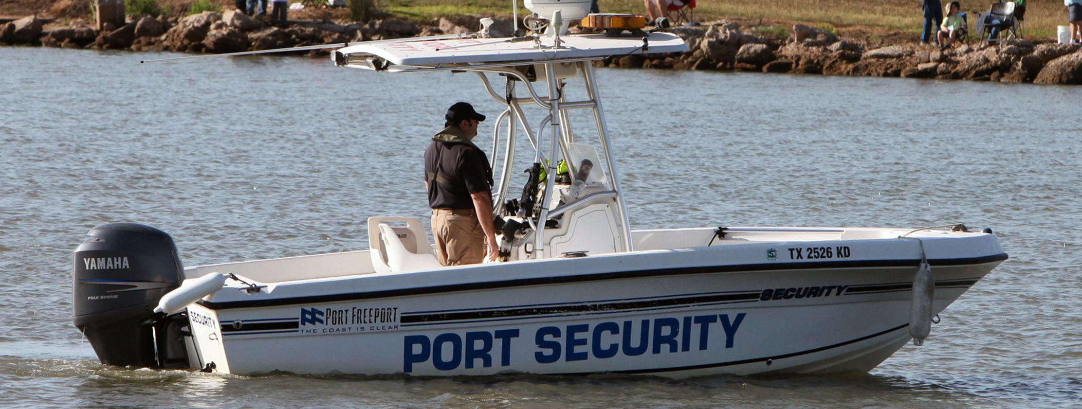 port security at port freeport texas