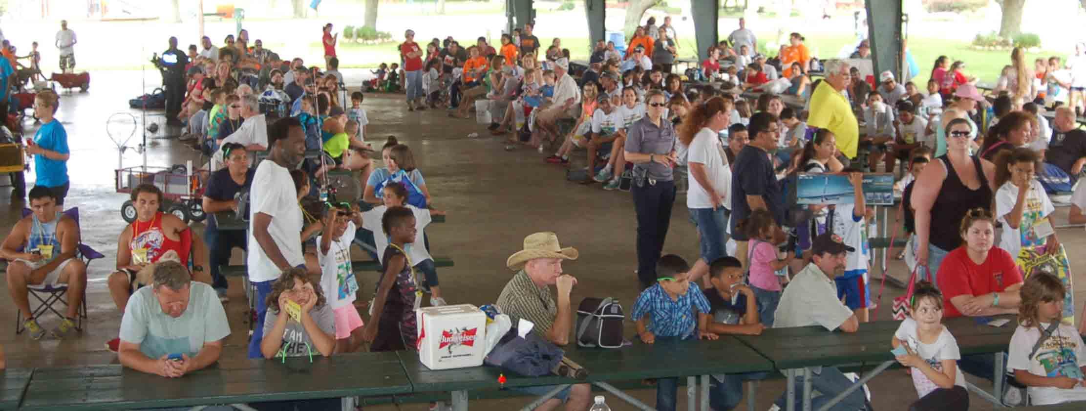 take a child fishing tournament prizes