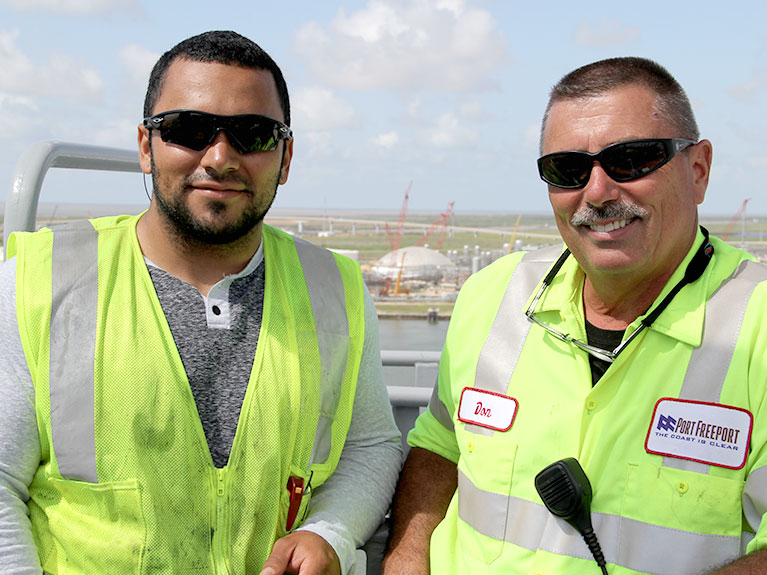 port freeport workforce