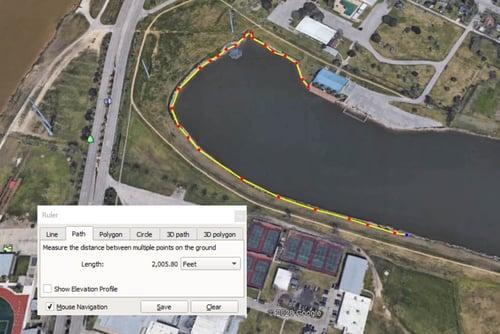 Measurement - Brazos River