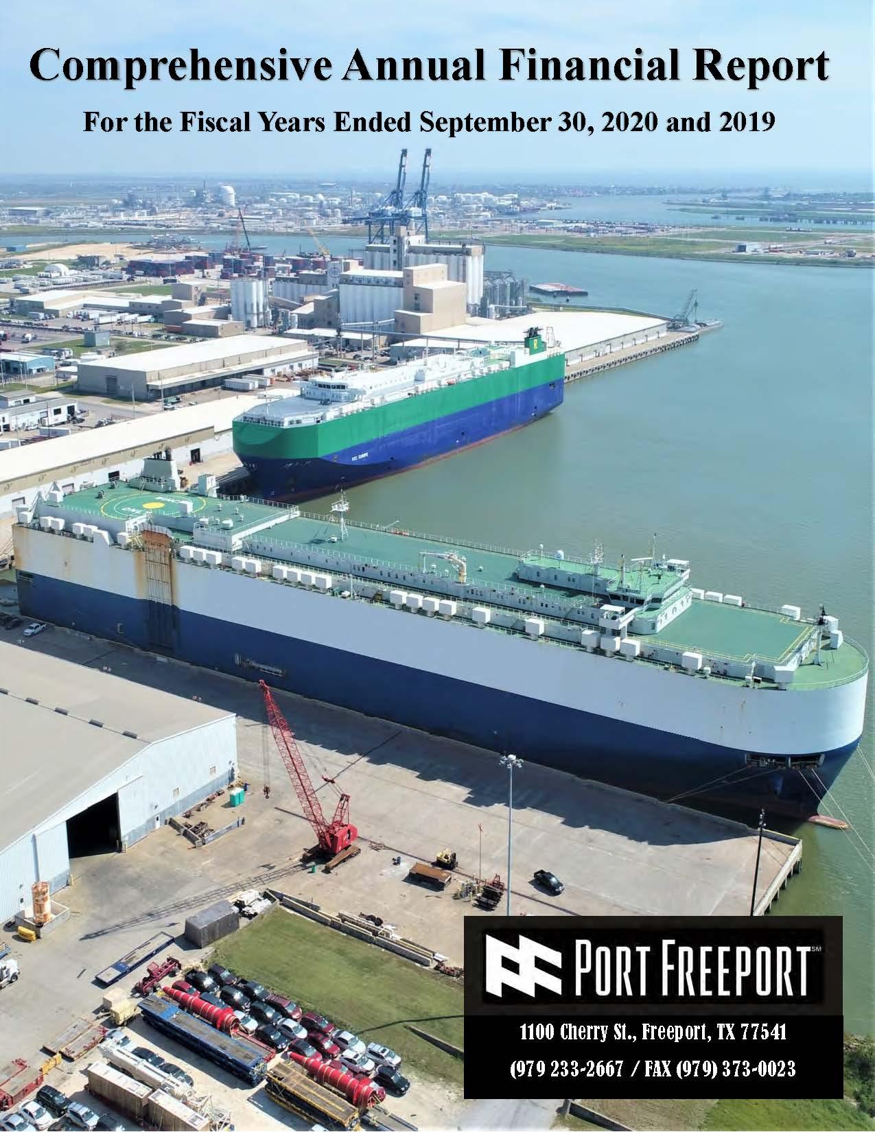 Port Freeport CAFR 9-30-20 image_Page_001